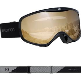 Salomon Sense Access Goggles Damen black/tonic orange